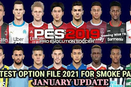 NEW Option File For Smoke Patch February 2021 - PES 2019