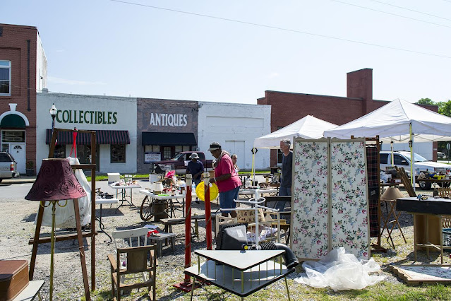 North Carolina's 301 Endless Yard Sale will stretch 100 miles and five counties in June.