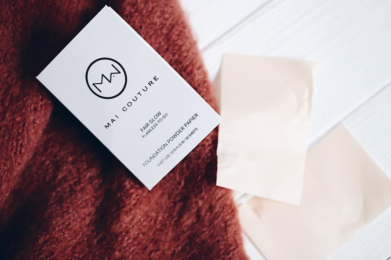 mai couture fond de teint papier fait glow avis test
