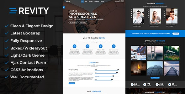 Revity - Firma Wordpress teması