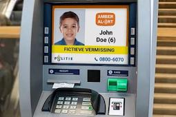 Mesin ATM Di Belanda Kini Tampilkan Informasi Anak Hilang