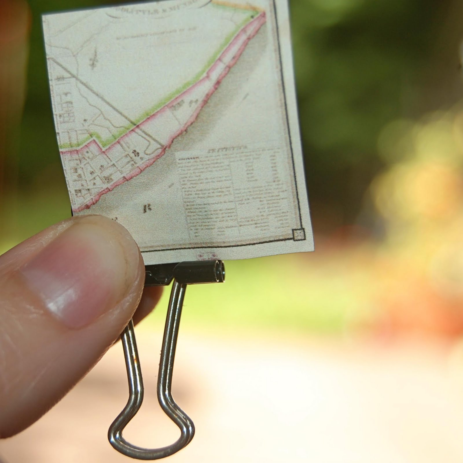 A Proffittable Life: DIY Pretty Patterned Binder Clips