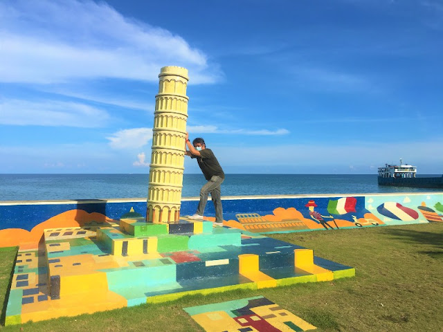 Leaning Tower of Pisa at Sands Gateway Mall Danao