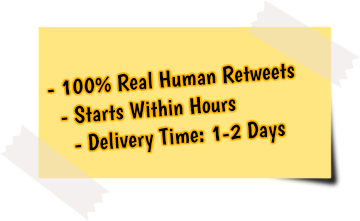 get more twitter retweets service features