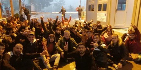Έβρος: Κατάληψη του μεθοριακού σταθμού Καστανιών από 75 λαθρομετανάστες