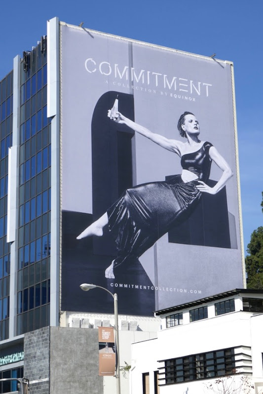 Equinox Commitment billboard