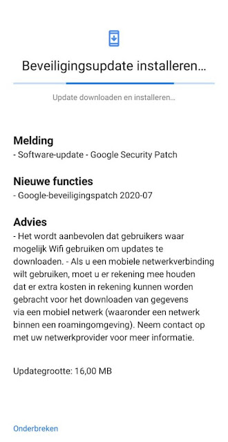 Nokia 6.2 receiving July 2020 Android Security patch