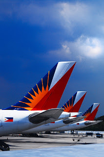 Philippine Airlines Fleet at Airport