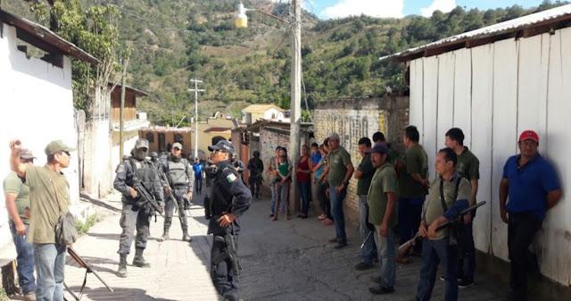 Sicarios irrumpen en pueblos de Guerrero y la gente los saca a tiros