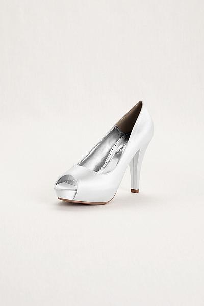 zapatos de novia para embarazadas