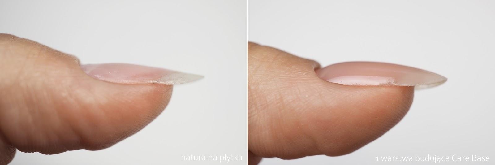 nadbudowa paznokci bazą