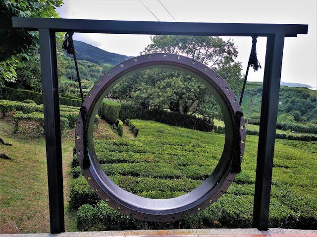 Plantación de té de Chá Formoso en Azores