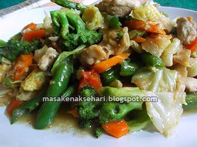 Menu Sahur Sehat Praktis Aneka Resep Masakan Sayur