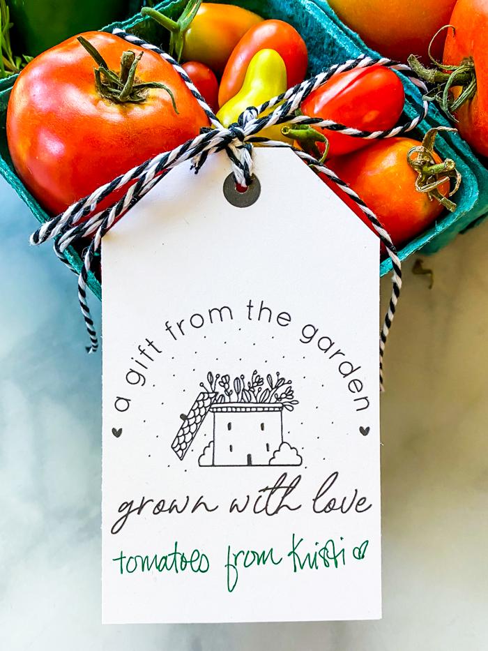 Printable Garden Tags