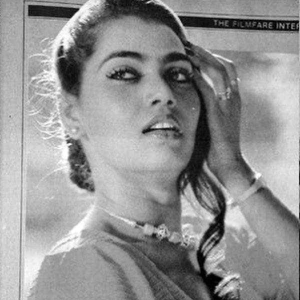 Silk Smitha black and white photo