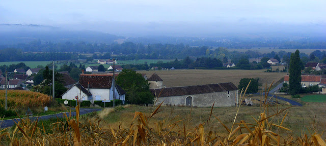 Mist in the Creuse Valley. Indre et Loire. France. Photo by Loire Valley Time Travel.