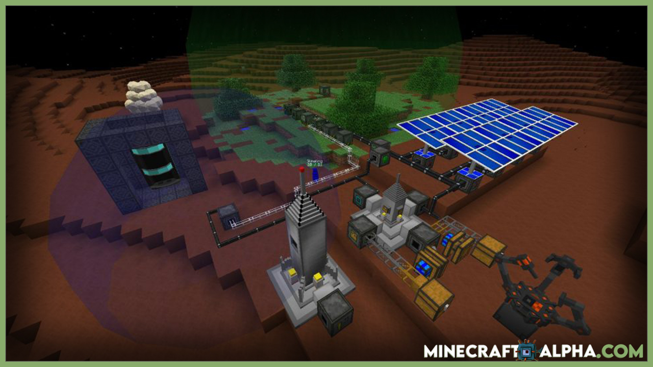 New Galacticraft Mod 1.17 To 1.11.2 (Moon, Spaceship And Space Stations)