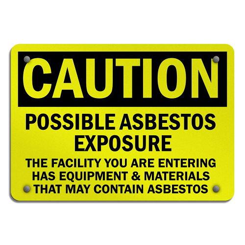 Asbestos Exposure Signs