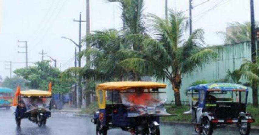 SENAMHI ALERTA: Lluvia moderada a fuerte prevén en la Selva norte desde mañana - www.senamhi.gob.pe