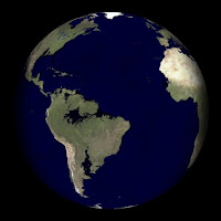 Earth with 80m Sea-level rise