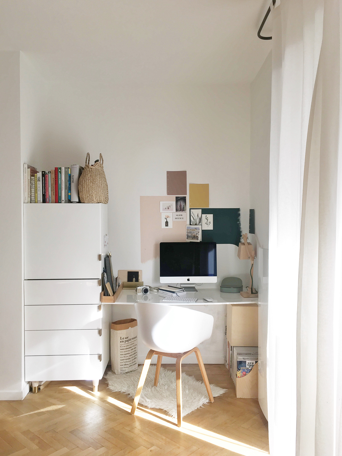 ilaria fatone - my workspace at home - before makeover