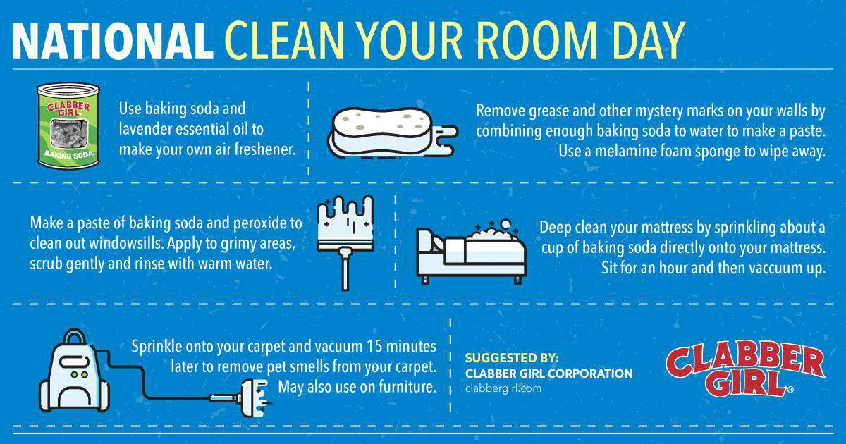 National Clean Your Room Day Wishes Images
