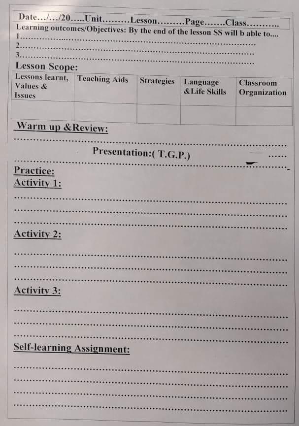 خطوات تحضير اللغة الانجليزية من الصف الرابع الابتدائي وحتى الثالث الثانوى