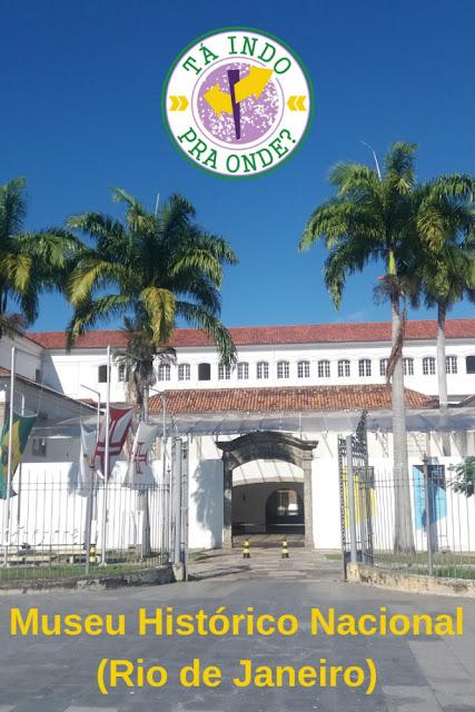 Visitando o Museu Histórico Nacional no Rio de Janeiro