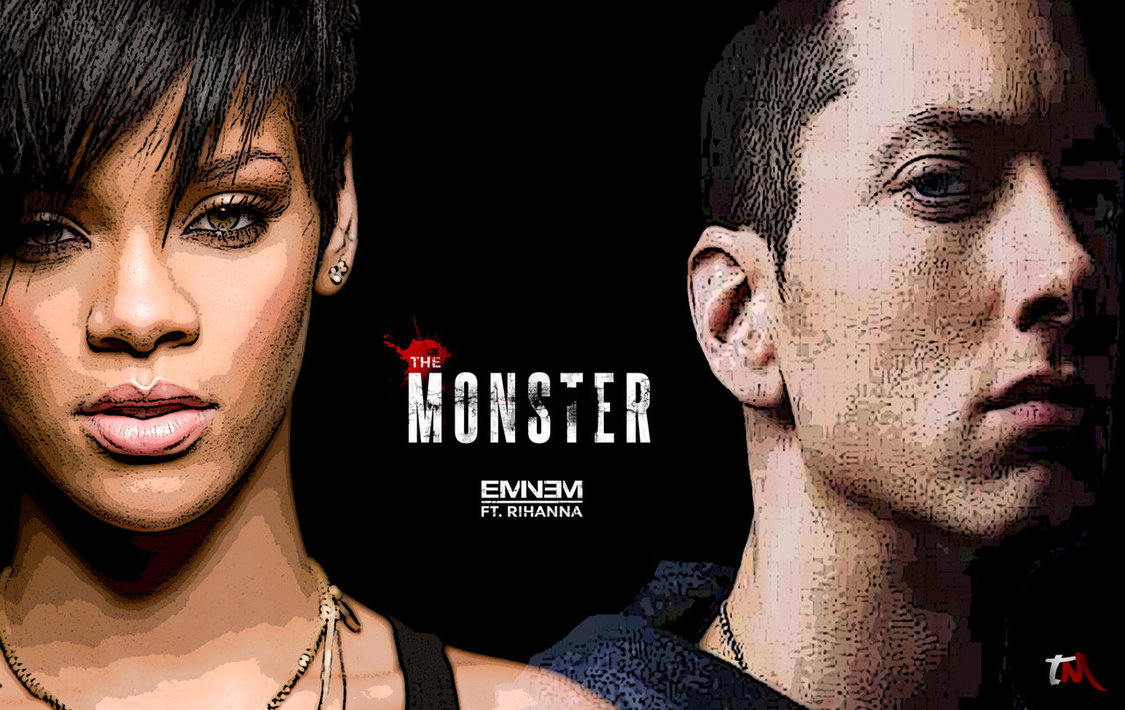 The Monster (ft. Rihanna) - Eminem: Testo (lyrics), traduzione e video