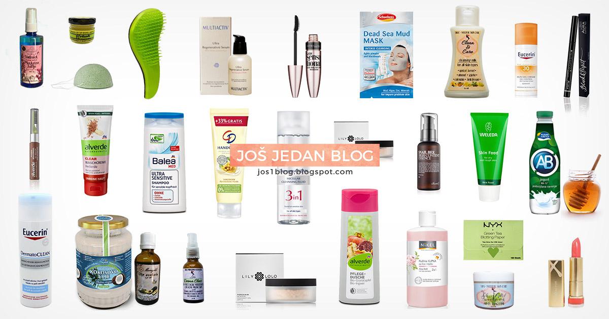 Omiljeni kozmetički proizvodi u 2016 godini, moje preporuke