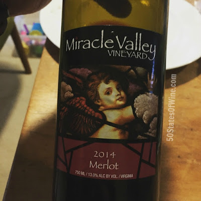 Miracle Valley Vineyard 2014 Merlot