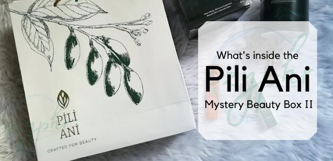 My Pili Ani (Pili Beauty and Wellness) Mystery Beauty Box II Experience | Skincare 2021