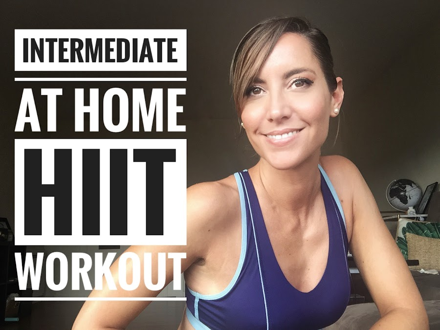 Fitness And Chicness-Intermediate At Home HIIT Workout II