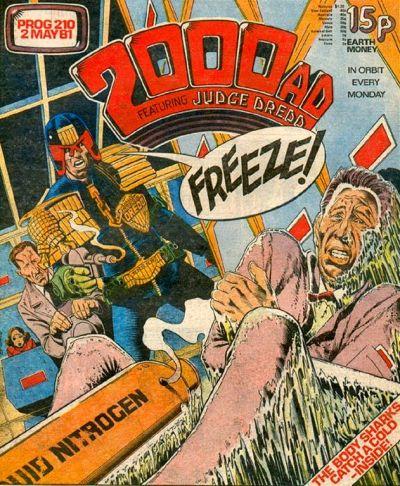 2000 AD Prog 210, Judge Dredd