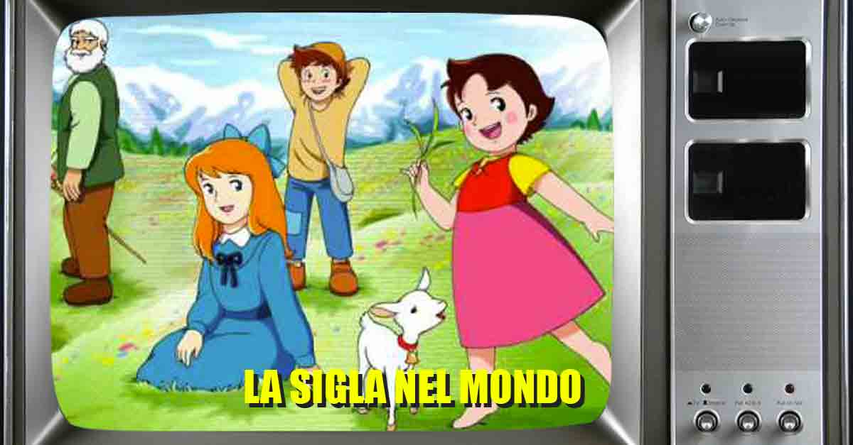 La sigla di Heidi nei vari paesi dov'è andato in onda