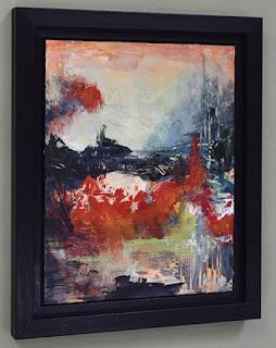 neutral rich landscape painting