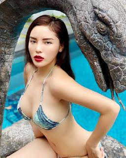 Kỳ Duyên chăm diện bikini khoe dáng gợi cảm hậu giảm cân