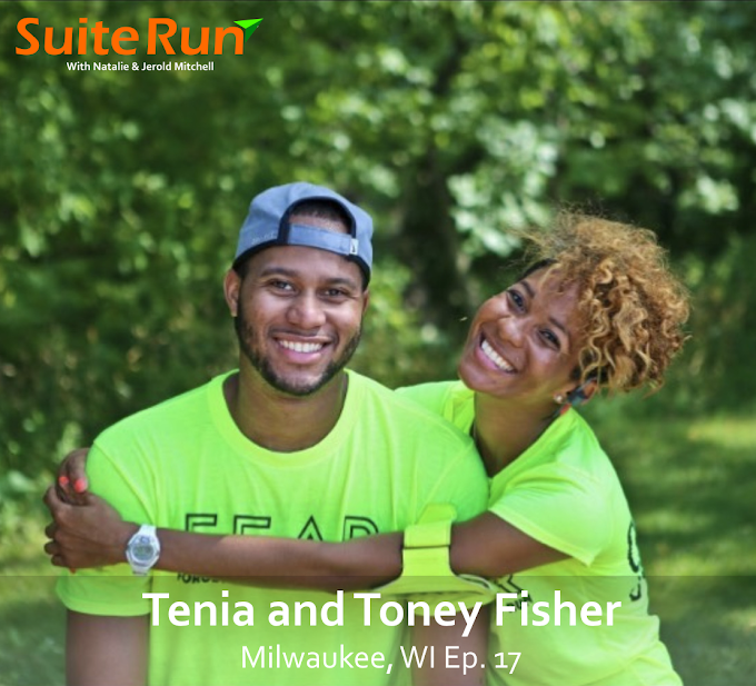17 | Milwaukee, WI with Tenia and Toney Fisher: Running with Friends for the Cheese and Beer