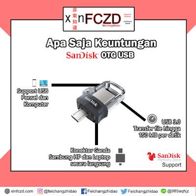 Keunggulan OTG USB SanDisk