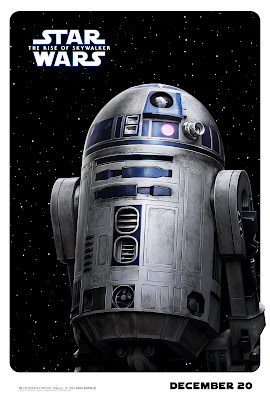 Star Wars The Rise of Skywalker R2-D2 poster