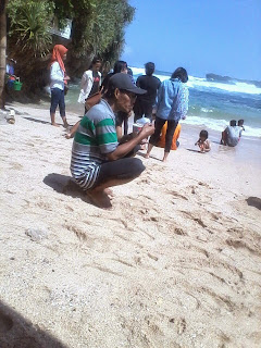 foto pantai Indrayanti