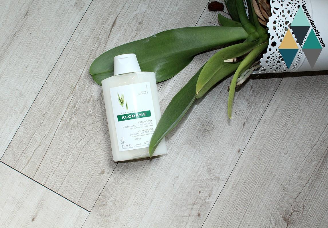 shampooing klorane cheveux fragiliés et sensibilisés