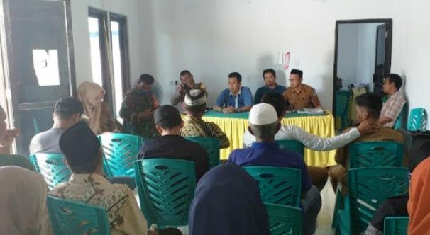 Pemdes Pamatata Melaksanakan Musdes Penyusunan RKPDes T.A. 2021