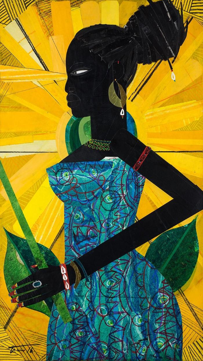 Картины-представления об афроамериканской жизни. Willie Torbert