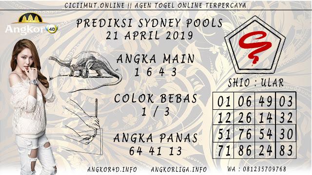 Prediksi Angka Jitu SYDNEY POOLS 21 APRIL 2019