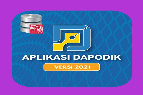 Rilis Aplikasi Dapodik Versi 2021 Download Installer Aplikasi Dapodikdasmen Versi 2021 Panduan Cara Instal Update Prefill
