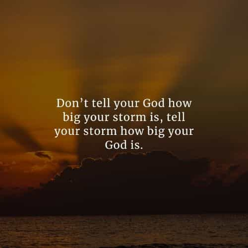Powerful God quotes that'll inspire you to believe in him
