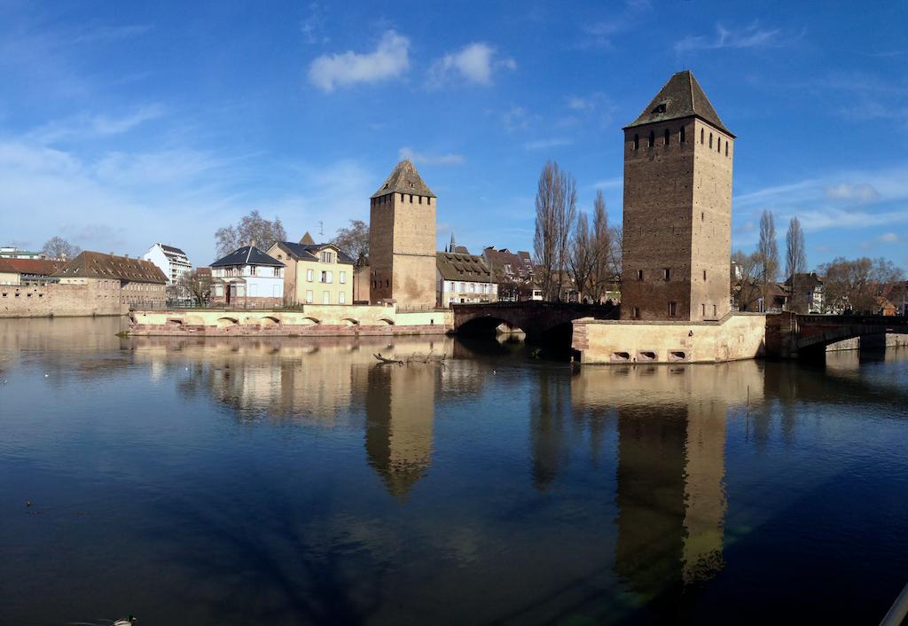 Ponts couverts (Strasbourg). Cliché Dr Balliet J.M. 2014
