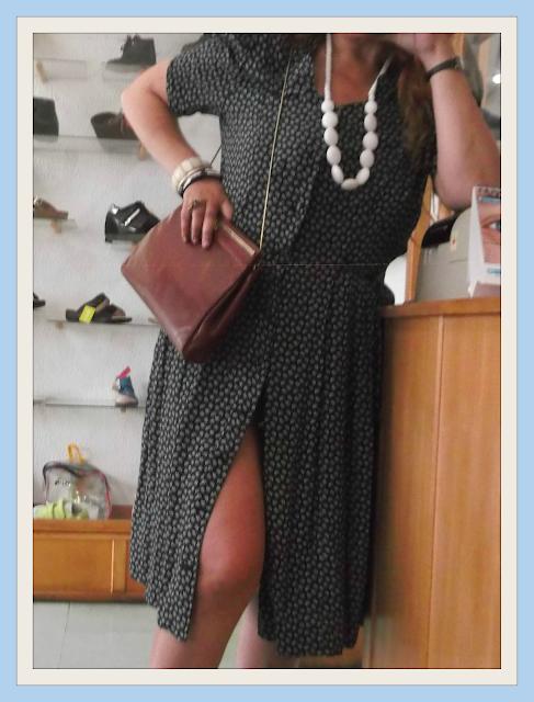 Conjunto vintage vestido botões (ALT)