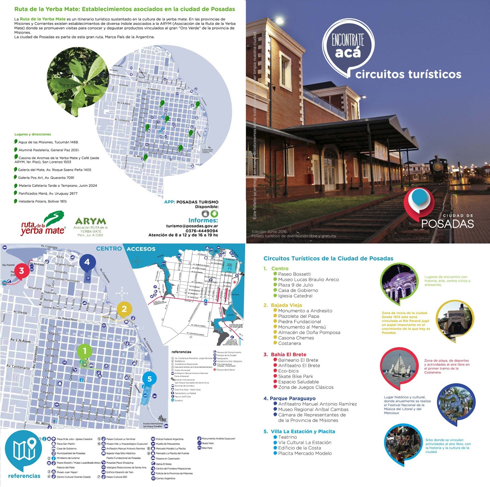 Circuito Yerba Mate : Noticias de la ruta de la yerba mate histórico posadas lanza